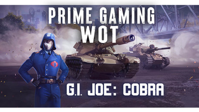 ⭐️ Amazon Prime Gaming WOT — 26 набор «G.I. JOE: Кобра»