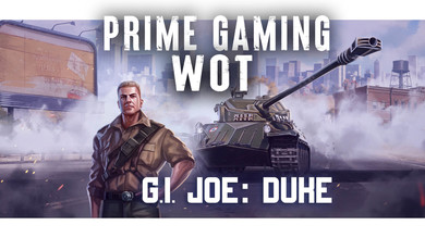 ⭐️ Amazon Prime Gaming WOT — 25 набор «G.I. JOE: Дьюк»