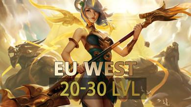 League of Legends [EUW] [20-30 LVL] + ПОЧТА НЕ ПОДТВЕРЖДЕНА