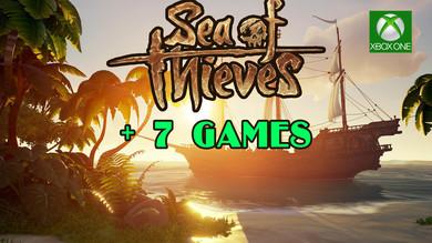 SEA OF THIEVES + 7 игр (COD: WWII, GTA 5, ARK И др.) [XBOX ONE]