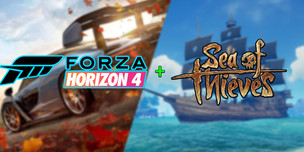 Sea of Thieves + DLC & Forza Horizon 4 Ultimate [PC,Microsoft]