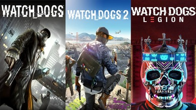 WATCH DOGS LEGION + 1, 2 части [UBISOFT]