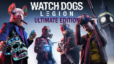 Watch Dogs Legion Ultimate Edition (+все DLC) [Ubisoft] аккаунт