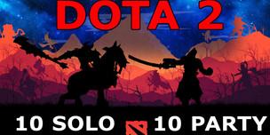 DOTA 2 аккаунт 10 Solo-10 Party TBD для калибровки