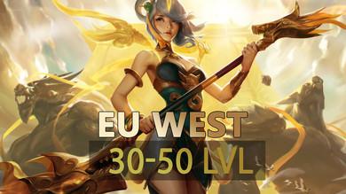 Аккаунт League of Legends [Euw] от 30 до 50 lvl Неактив 12 мес