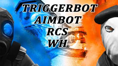 Триггербот + Aimbot + RCS + ВХ для CS:GO | 1 день