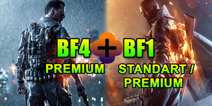 Battlefield 1 + Battlefield 4 Premium