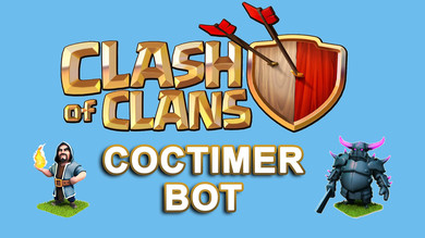Бот автофарма COCTimer для Clash of Clans на 3 месяца