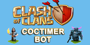 Бот автофарма COCTimer для Clash of Clans на 1 месяц