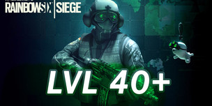 RAINBOW SIX SIEGE LVL 40+