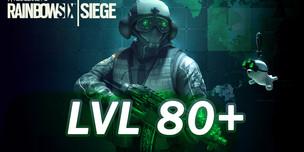 RAINBOW SIX SIEGE LVL 80+