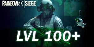 RAINBOW SIX SIEGE LVL 100+