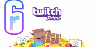 Rainbow Six Siege 12 Twitch Prime Паков + Значок Тиби