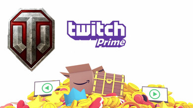 Twitch Prime World of Tanks: Care Package Bravo (Без Prime)