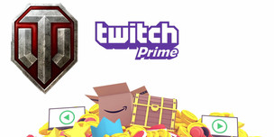 Twitch Prime World of Tanks: Care Package Bravo (Без Prime)